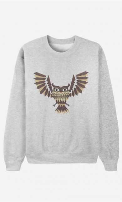 Sweat Femme Owl