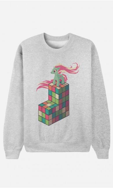 Sweat Femme Pony Rubik