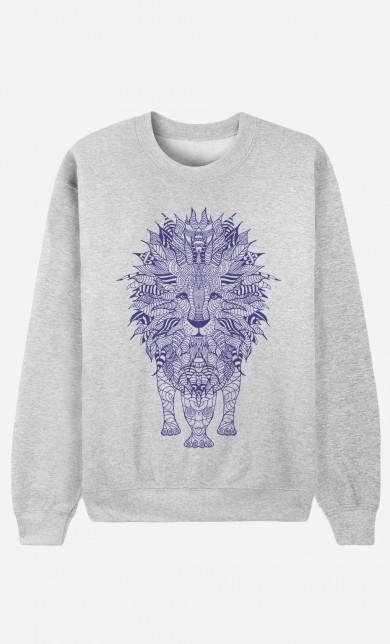 Sweat Lion Blue