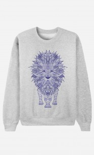 Sweat Lion Blue