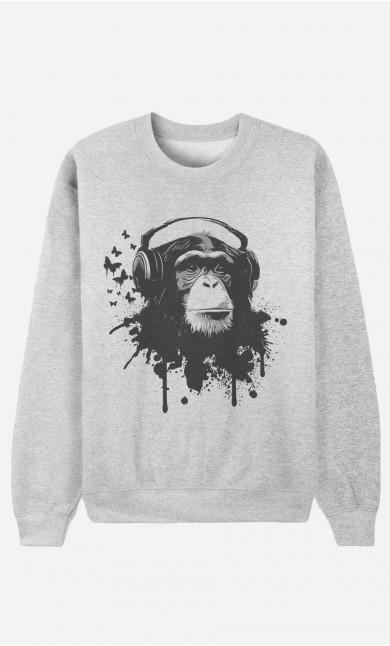 Sweat Femme Creative Monkey