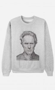 Sweat Femme Clint Eastwood