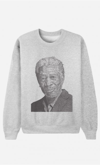 Sweat Femme Morgan Freeman
