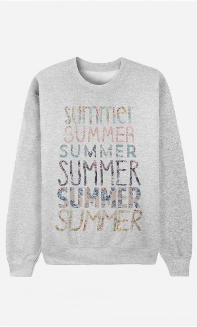 Sweat Femme Summer
