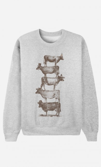 Sweater Cow Cow Nuts