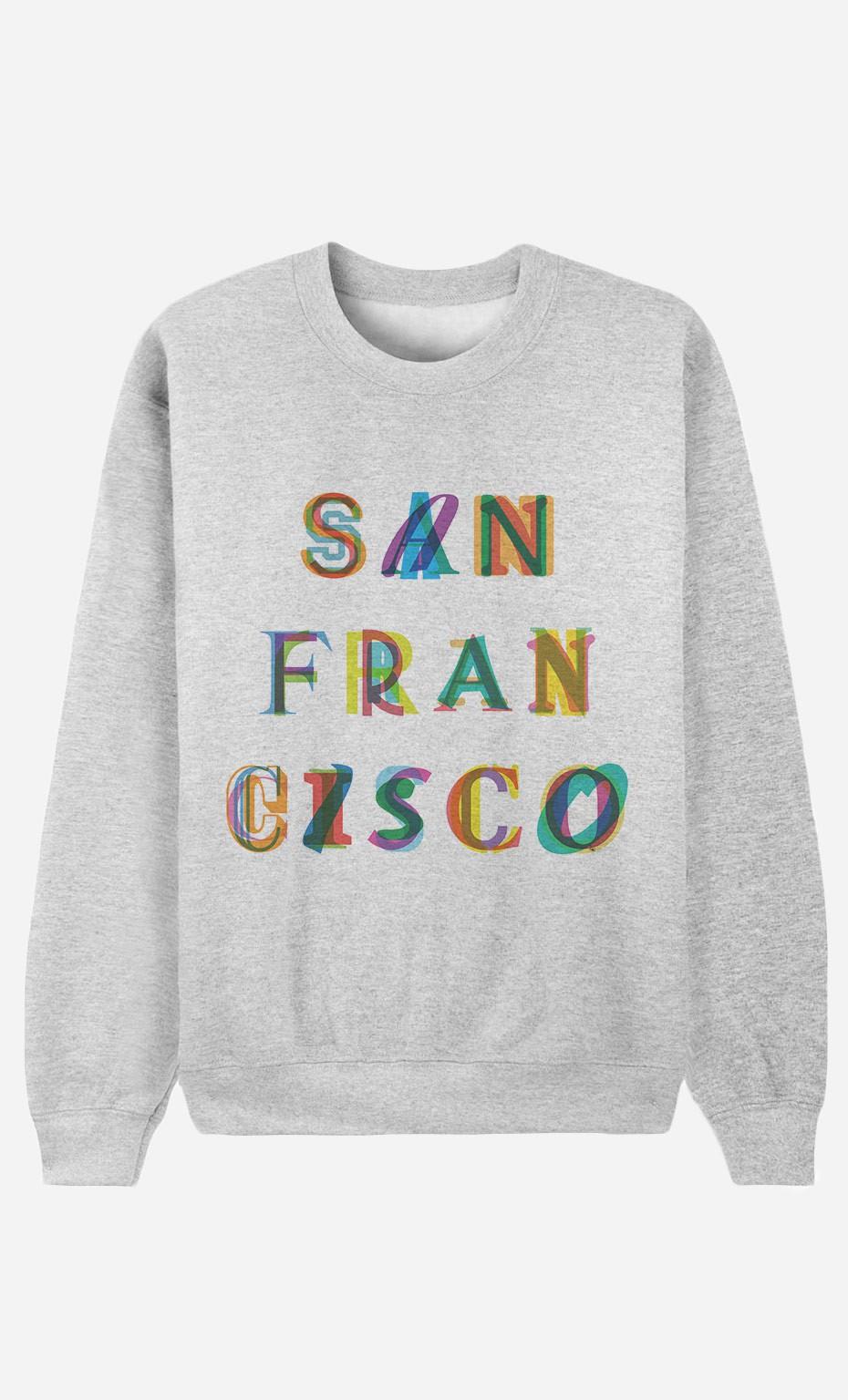 Sweat Femme San Francisco