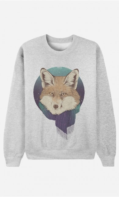 Sweat Femme Winter Fox