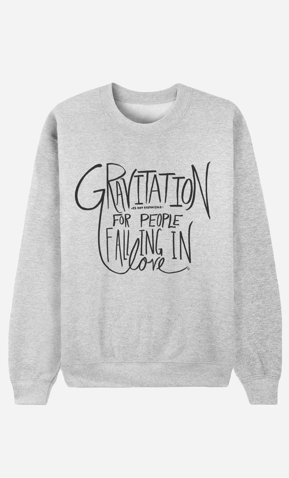 Sweat Femme Gravitation
