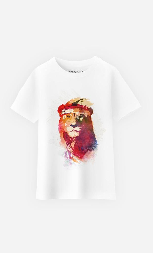 T-Shirt Enfant Gym Lion