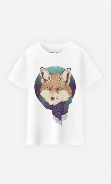 T-Shirt Winter Fox