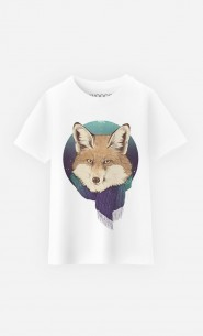 T-Shirt Enfant Winter Fox