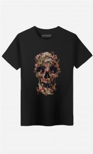 T-Shirt Homme Jungle Skull