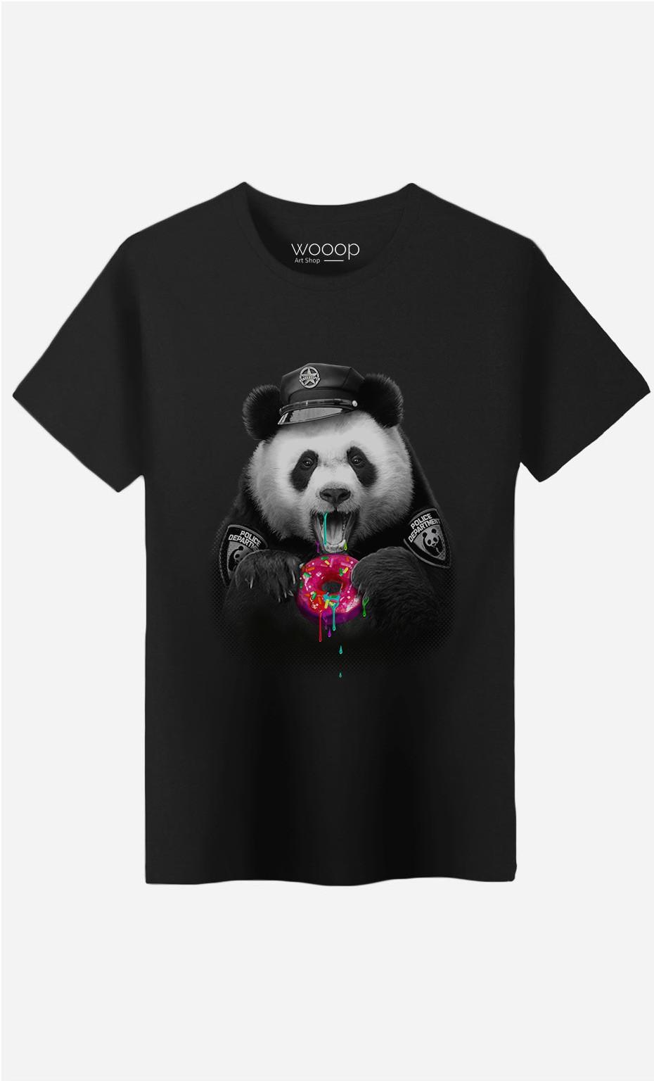 T-Shirt Homme Donutcop