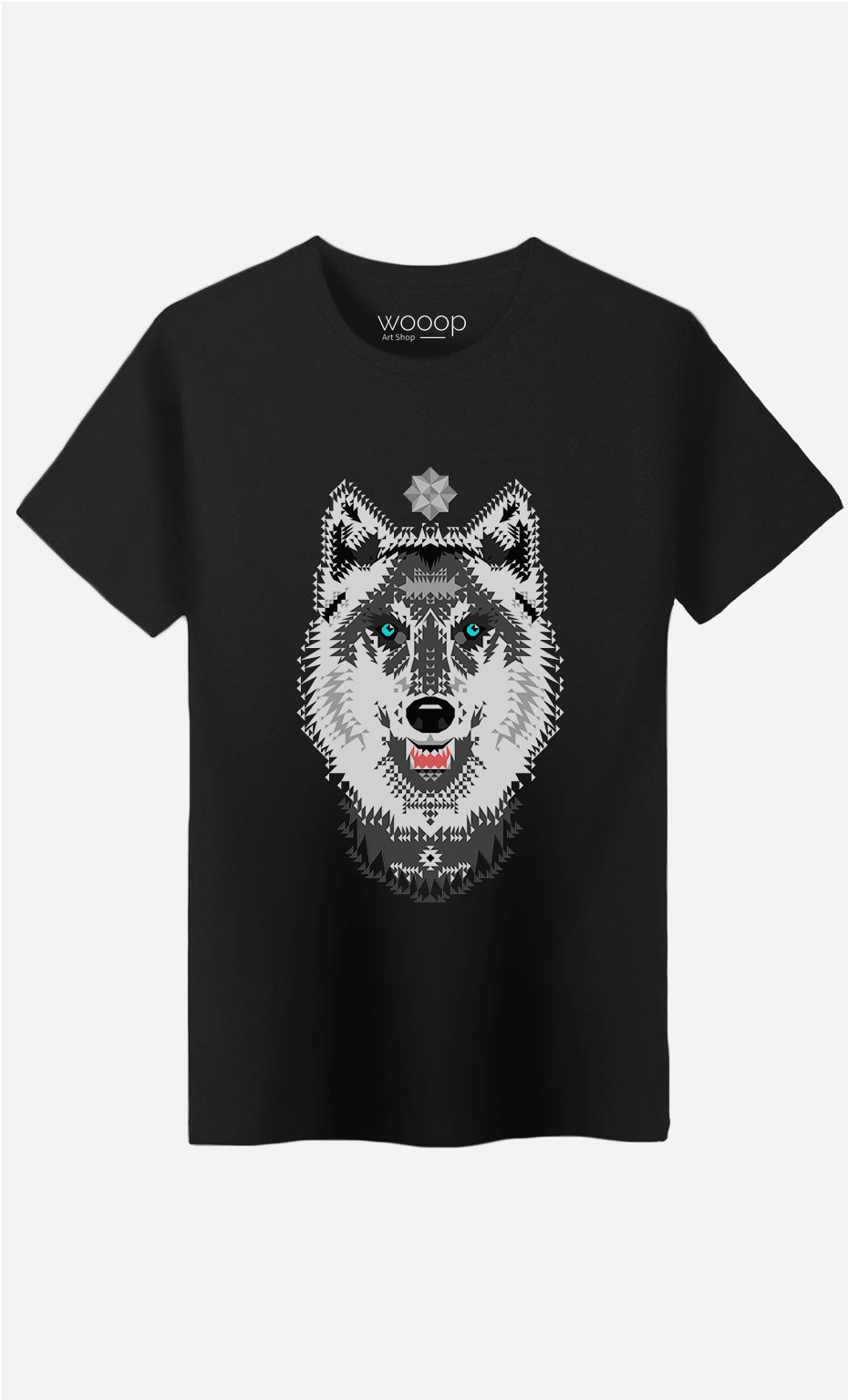 T-Shirt Homme Silver Wolf