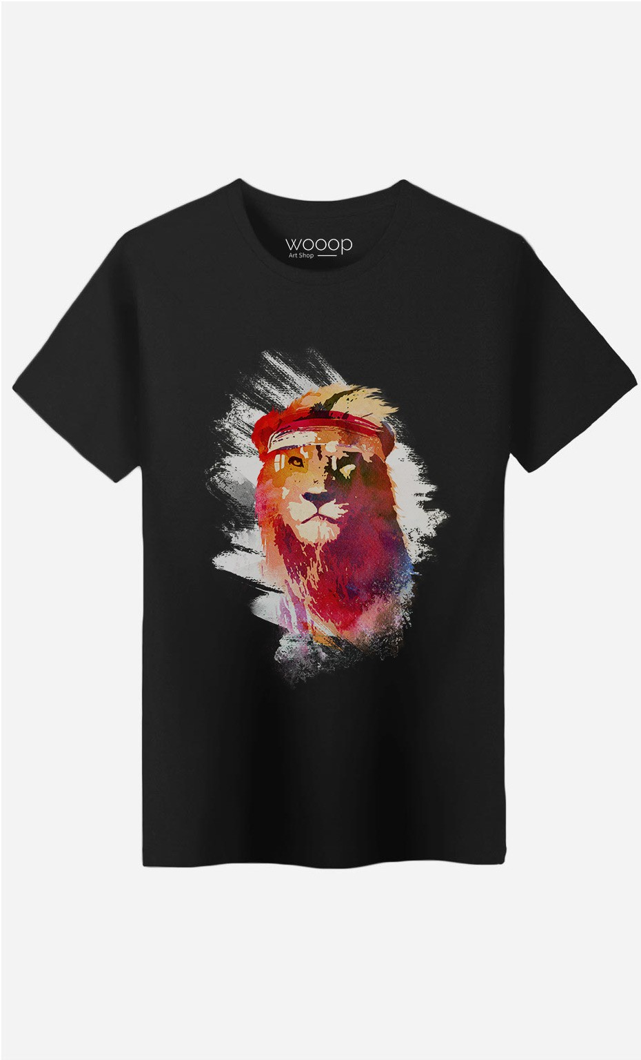 T-Shirt Homme Gym Lion