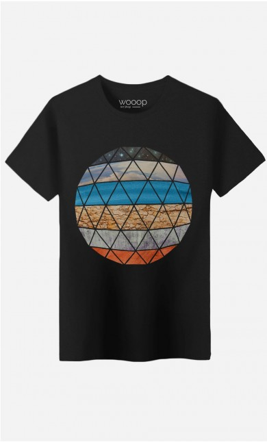 T-Shirt Homme Natural Geodesic