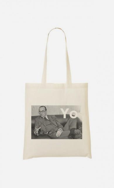 "Tote Bag Fun ""Chirac Yo"""
