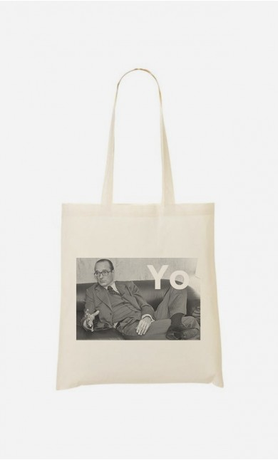 "Tote Bag Fun ""Chirac Yo"""