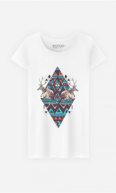 T-Shirt Femme Deer