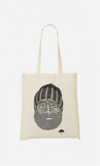 Tote Bag Beanie Man