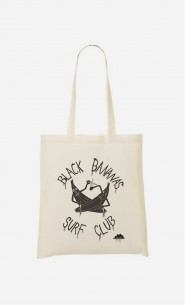 Tote Bag Black Bananas