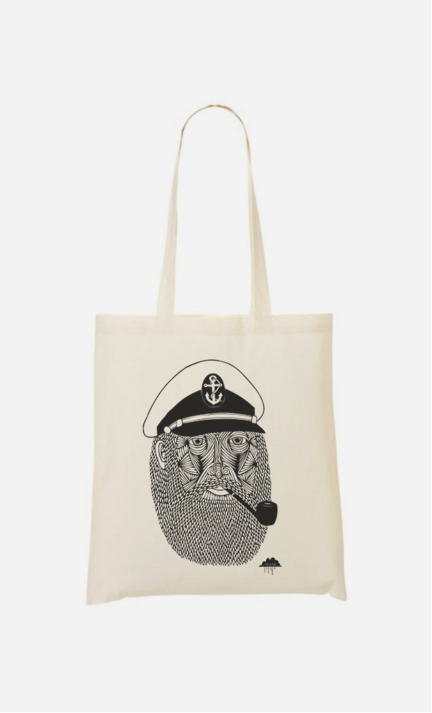 Tote Bag Captain Monkey