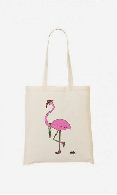 Tote Bag Fredrick The Flamingo