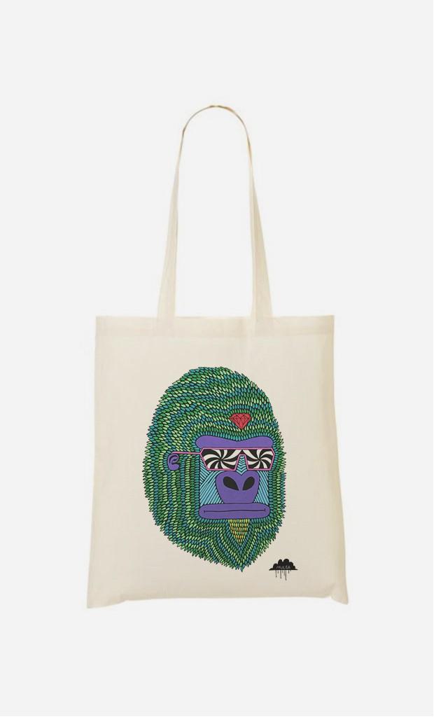 Tote Bag Hypno Ape
