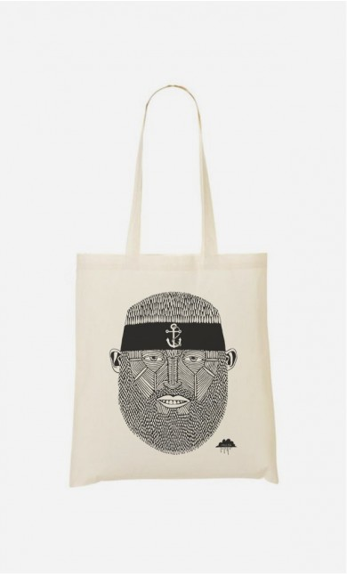 Tote Bag Sushi Chef