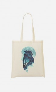 Tote Bag Midnight Owl