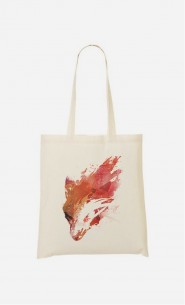 Tote Bag Wild Fox