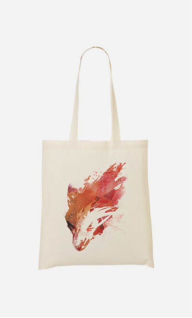 Tote Bag Wild Fox