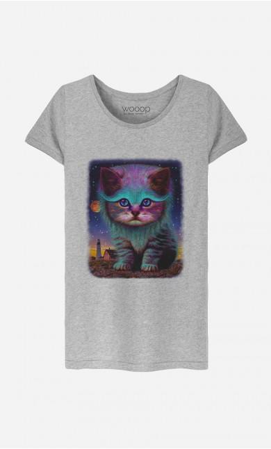 T-Shirt Femme Kitty