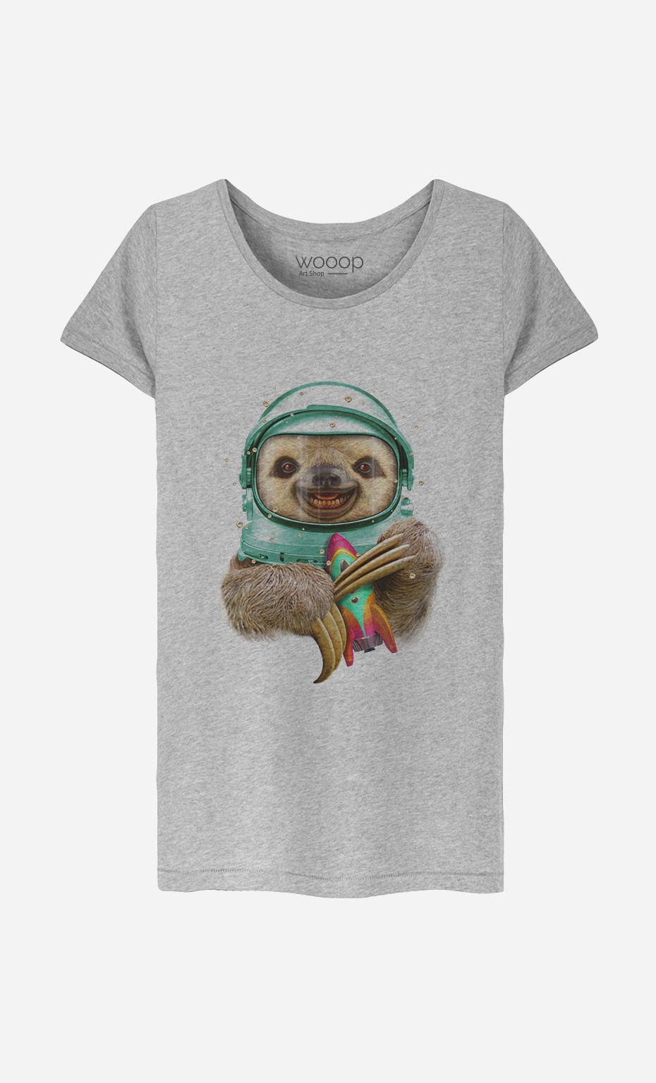 T-Shirt Femme Space Sloth