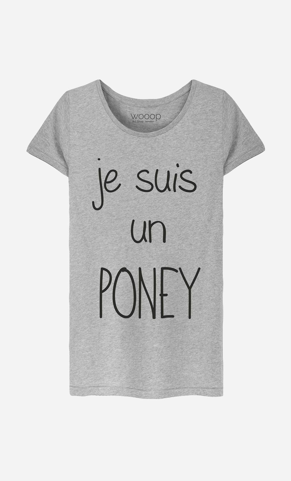 T-Shirt Je Suis Un Poney
