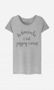 T-Shirt Femme Jogging Canap