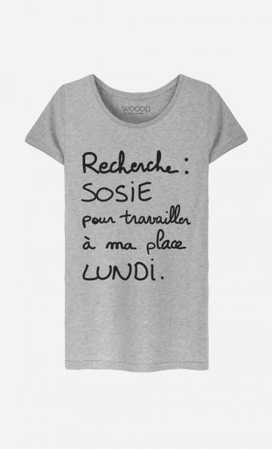 T-Shirt Recherche Sosie