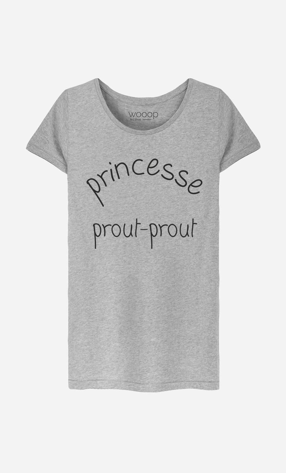 T-Shirt Femme Princesse Prout-Prout
