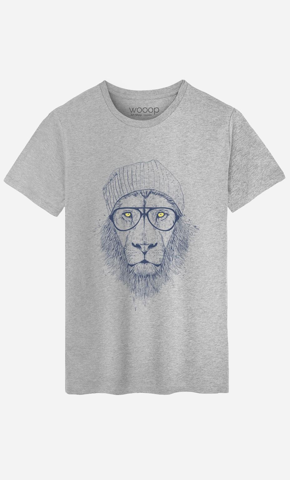 T-Shirt Homme Cool Lion