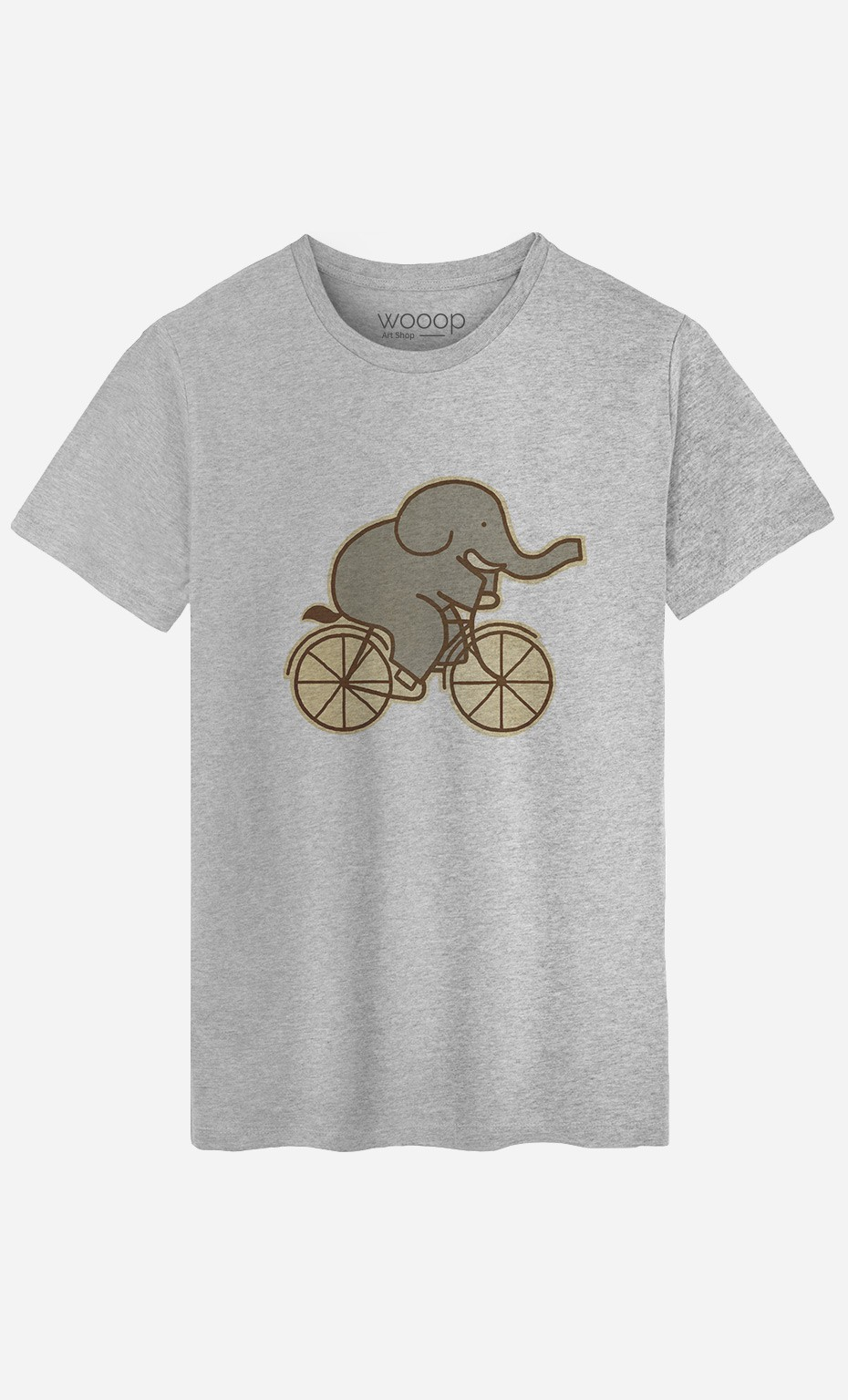 T-Shirt Homme Elephant Cycle
