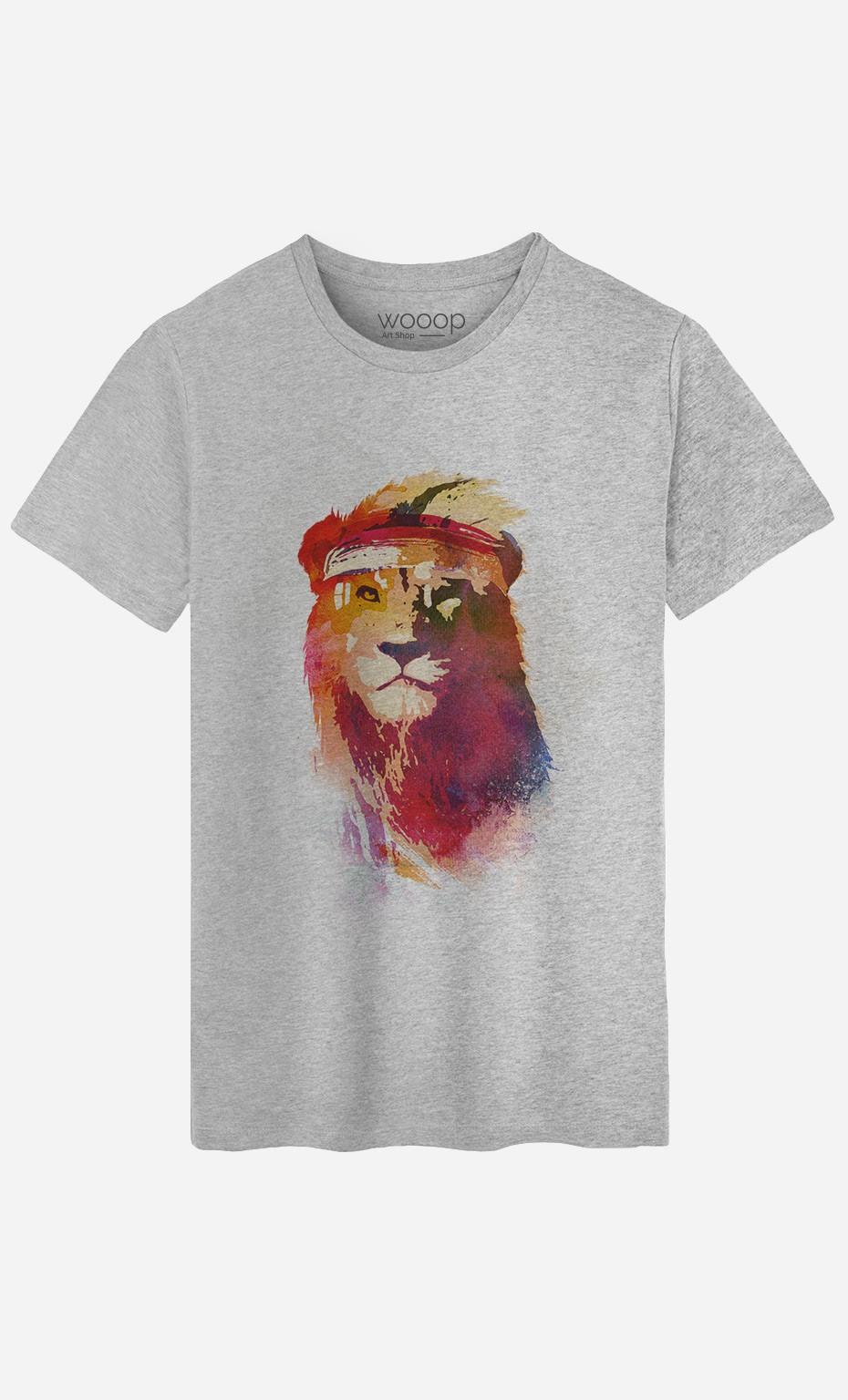 T-Shirt Homme Gym Lion