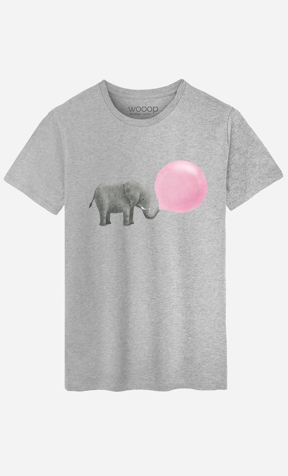 T-Shirt Homme Jumbo Bubble Gum