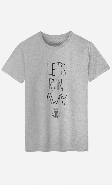 T-Shirt Homme Let's Run Away