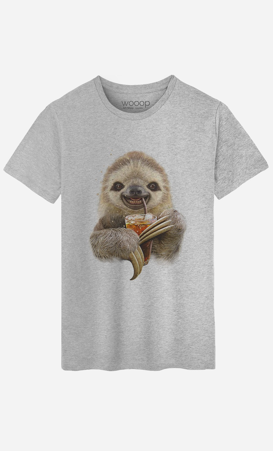 T-Shirt Homme Sloth & Drink