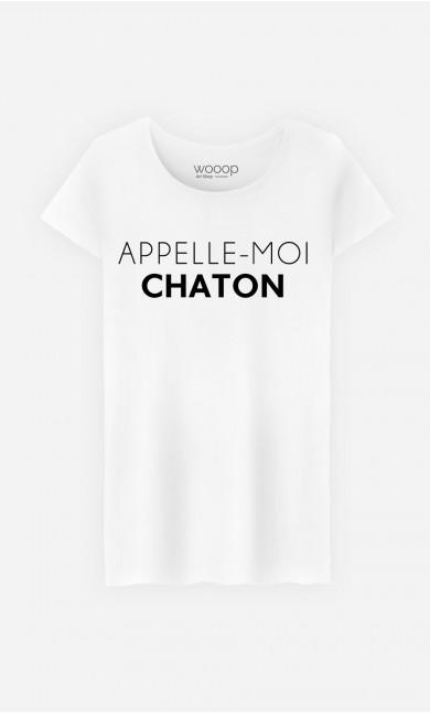 T-Shirt Femme Appelle-Moi Chaton