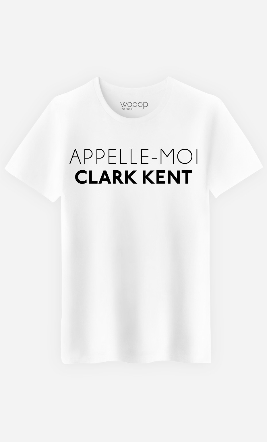 T-Shirt Homme Appelle-Moi Clark Kent