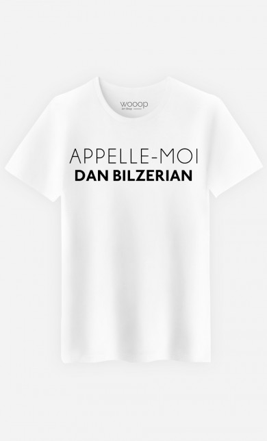 T-Shirt Appelle-Moi Dan Bilzerian