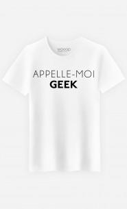 T-Shirt Homme Appelle-Moi Geek