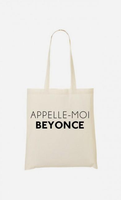 Tote Bag Appelle-Moi Beyoncé