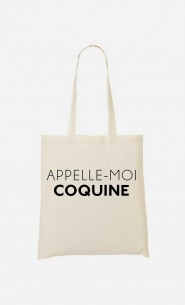 Tote Bag Appelle-Moi Coquine